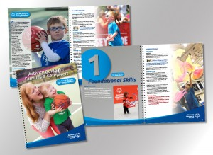 28 page instructional book for families with special needs children.